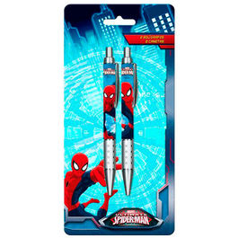 Blister 2 boligrafos Spiderman Marvel