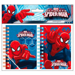 Blister libretas Spiderman Marvel A7 surtido
