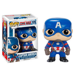 Figura POP Vinyl Bobble Head Capitan America Civil War Capitan America