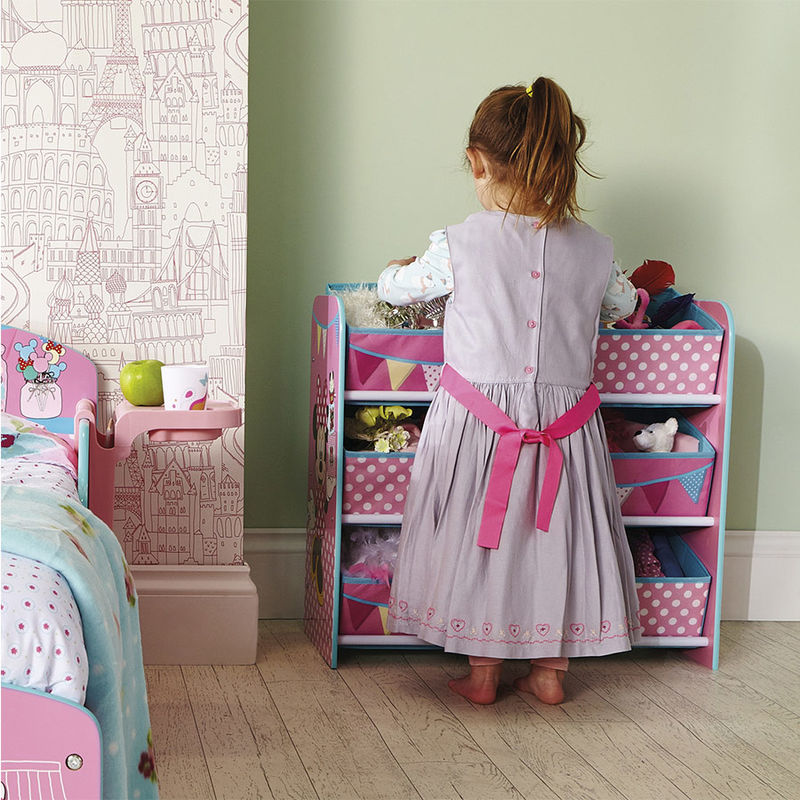 Cofre para guardar juguetes baul tela ikea a estrenar for Mueble guarda juguetes