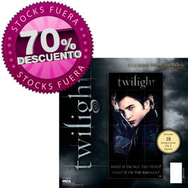 Puzzle gigante para pared Edward Broken Glass - Crepusculo Twilight 90x177cm