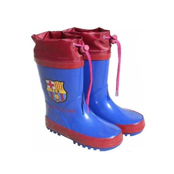 Botas agua FC Barcelona escudo cierre ajustable 8425148777195