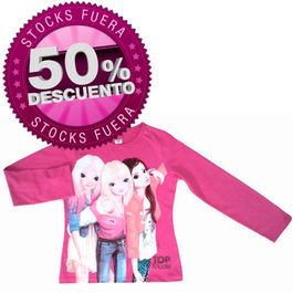 Camiseta Top Model Friends magenta