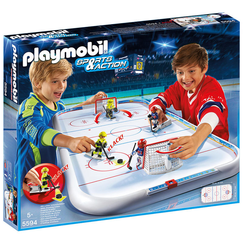 Campo Hockey hielo Playmobil Sports Action