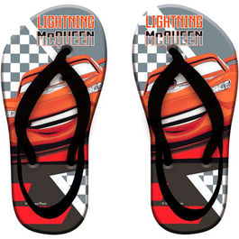Disney Cars flip flop with heel band