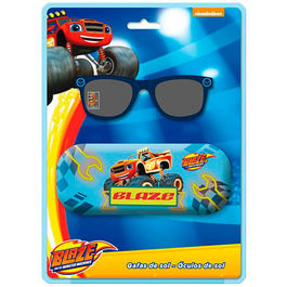 Blister gafas sol Blaze and the Monsters Machines funda metalica