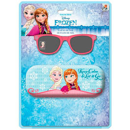 Disney Frozen sunglasses in blister with metalic case
