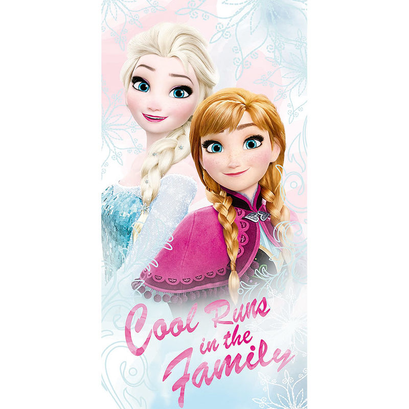 Toalla Frozen Disney Cool Runs algodon 8435333867914