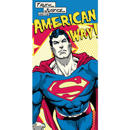 Toalla Superman DC American Way algodon