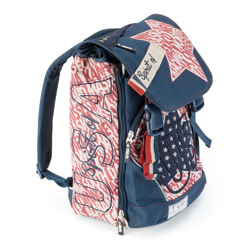 Mochila Spirit USA Blue solapa