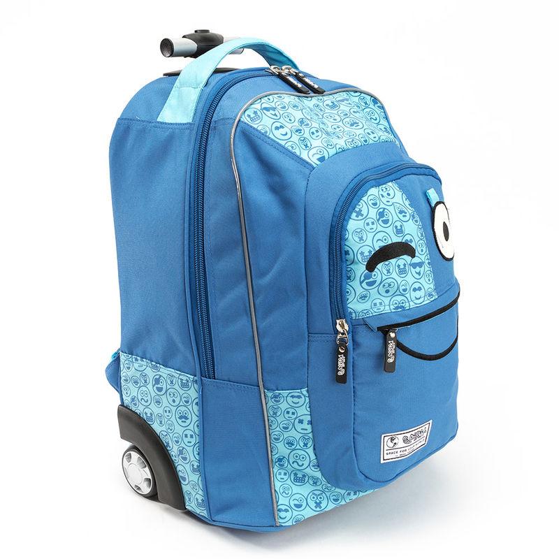 Trolley Spirit Emoticons Blue 48 cm
