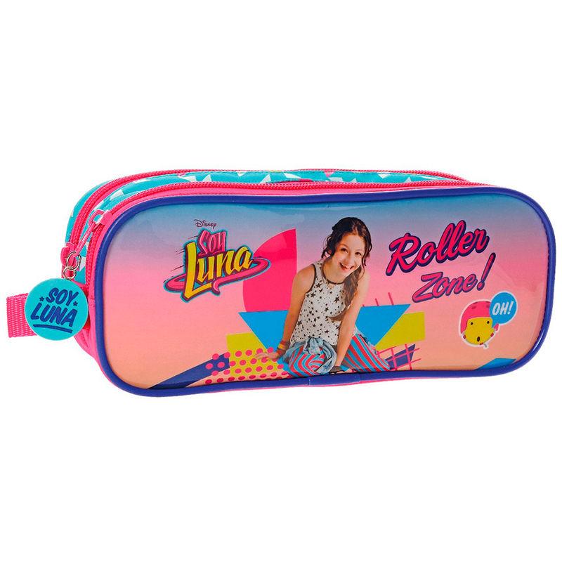 Portatodo-Soy-Luna-Disney-Roller-Zone-doble-Nuevo-Original