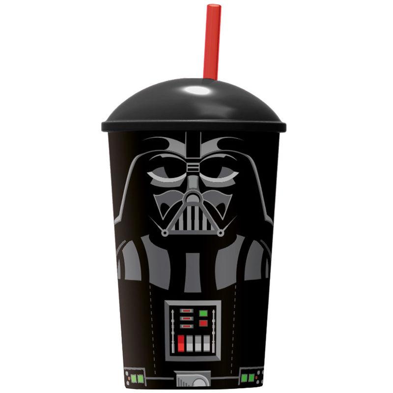 Vaso Star Wars Darth Vader pajita 8412497597420