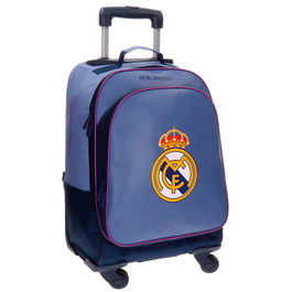 Trolley Real Madrid Campus azul 4r 50cm