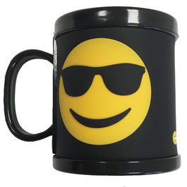 Taza Emoticonworld rubber 3D gafas sol
