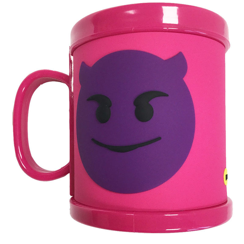 Taza Emoticonworld rubber 3D emoticono demonio - OcioStock b70cc3321fb24