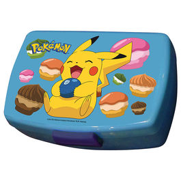 Sandwichera Pokemon Pikachu