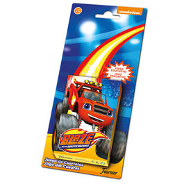 Baraja cartas Blaze and the Monster Machines