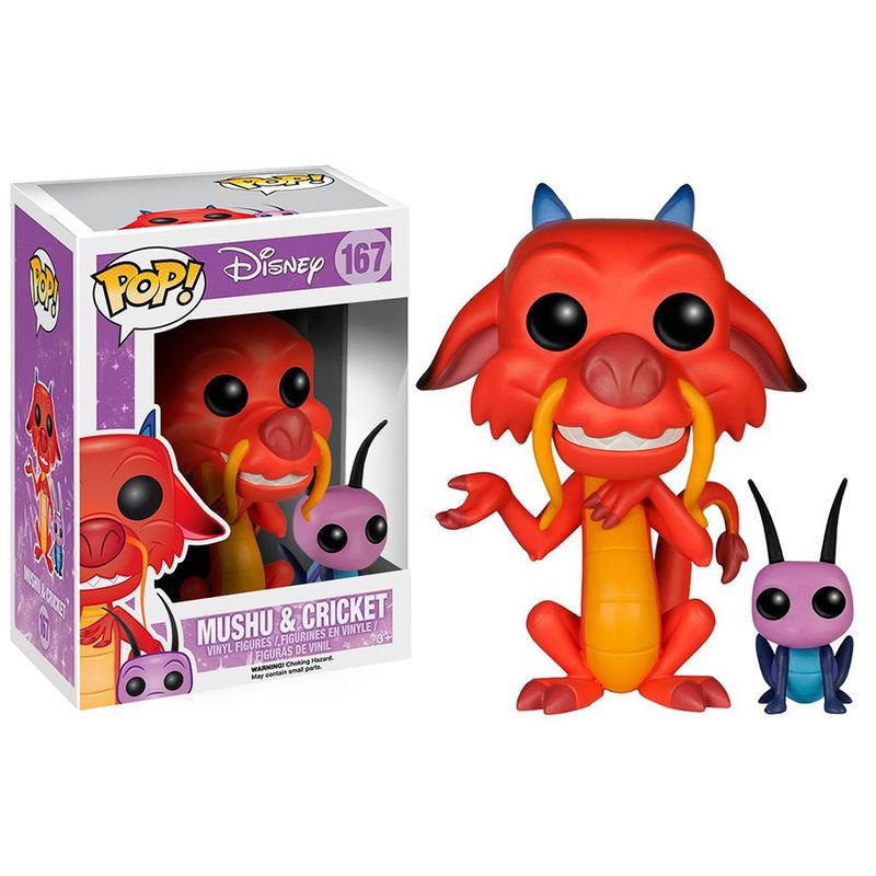 Pre-pedido Funko POP o Figura POP Disney Mulan Mushu & Cricket