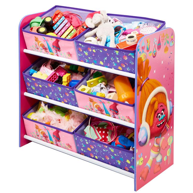 mueble guarda juguetes trolls tama o 60x63 5x30cm