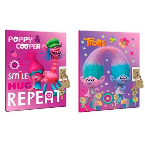 Diario Trolls Poppy candado surtido 5204549097551