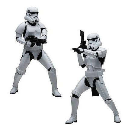 Set 2 figuras Storm Trooper ArtFX+ Star Wars