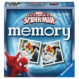 Marvel Ultimate Spiderman memory card game