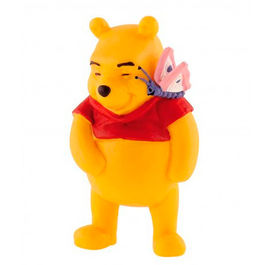 Winnie the Pooh with butterflie figure