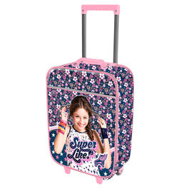 Maleta trolley Soy Luna Disney Soft Superlike 46cm
