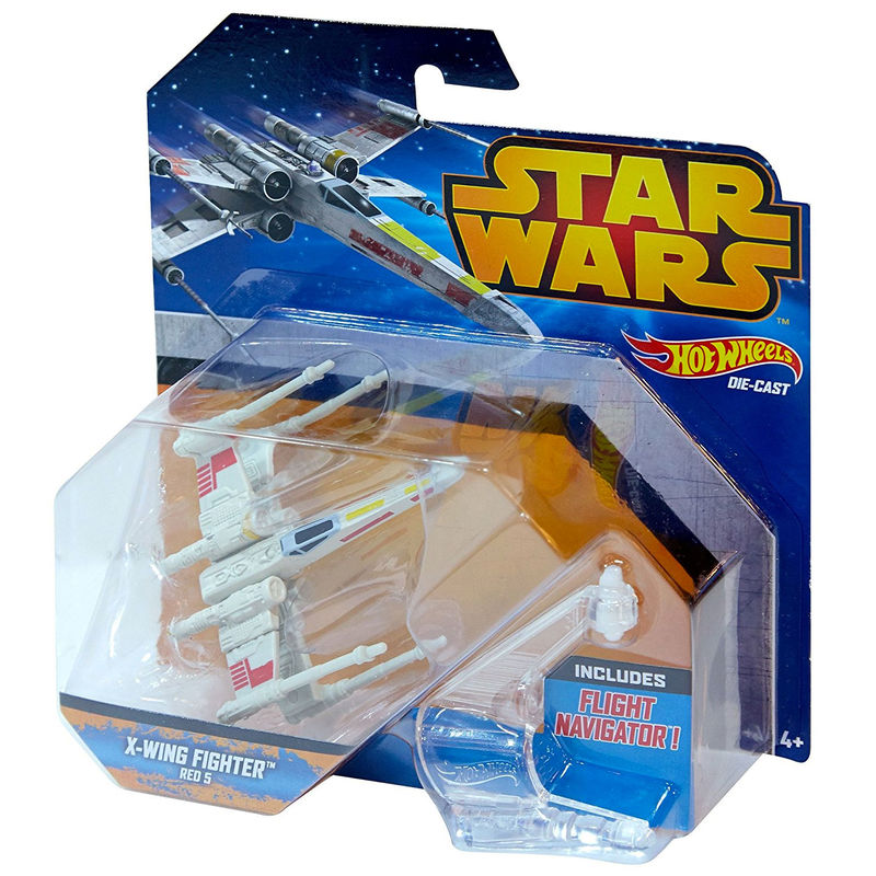 X-wing Fighter Red 5 Star Wars Hot Wheels