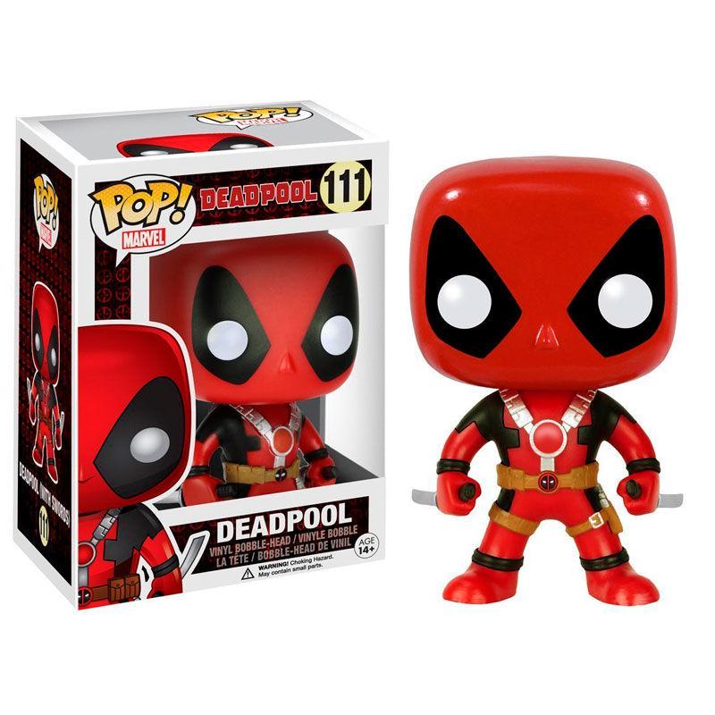 Funko POP o Figura POP Marvel Deadpool con Espadas