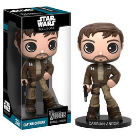 Figura Wobbler Star Wars Rogue One Capitan Cassian