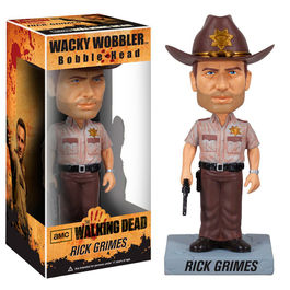Figura Wacky Wobbler The Walking Dead Rick Grimes