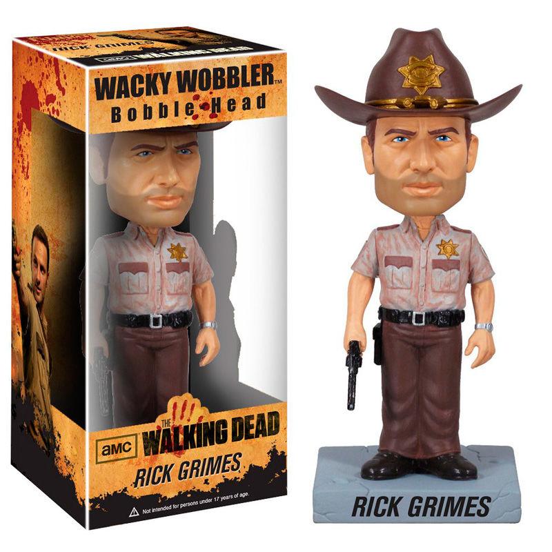 Figura Wacky Wobbler The Walking Dead Rick Grimes
