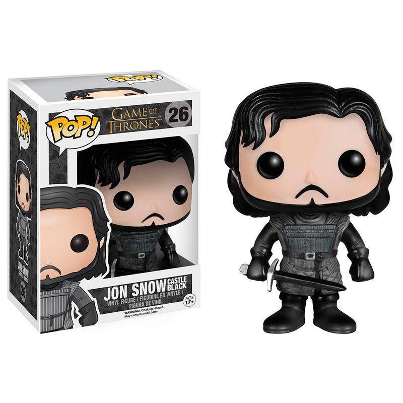 Figura POP Game of Thrones Jon Snow Castle Black