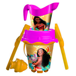 Disney Vaiana Moana sand bucket moulds watering can