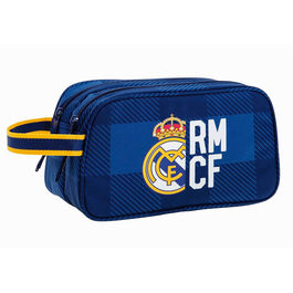 Neceser Real Madrid Blue adaptable