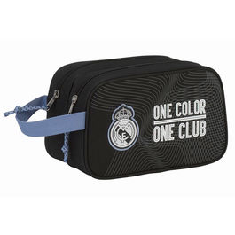 Neceser Real Madrid Black adaptable