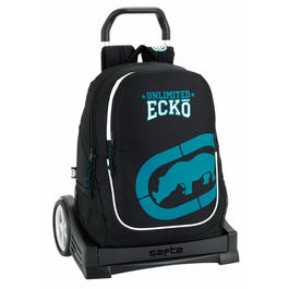 Trolley Ecko Unltd Black 44cm Carro Evolution