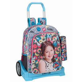 Disney Soy Luna Athletic Trolley 42cm trolley Evolution