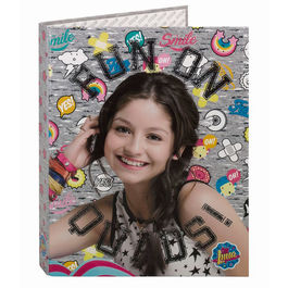 Disney Soy Luna Athletic A4 Cardboard ring binder 4 rings