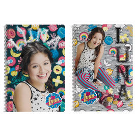 Disney Soy Luna Athletic A4 Notebook 80 sheets hard cover