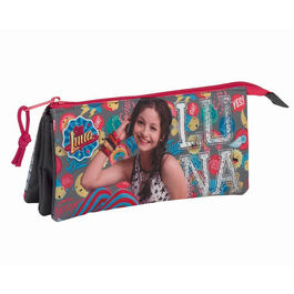 Disney Soy Luna Athletic Triple pencil case