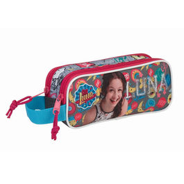 Disney Soy Luna Athletic Double pencil case