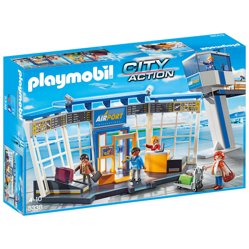 Torre Control y Aeropuerto Playmobil City Action