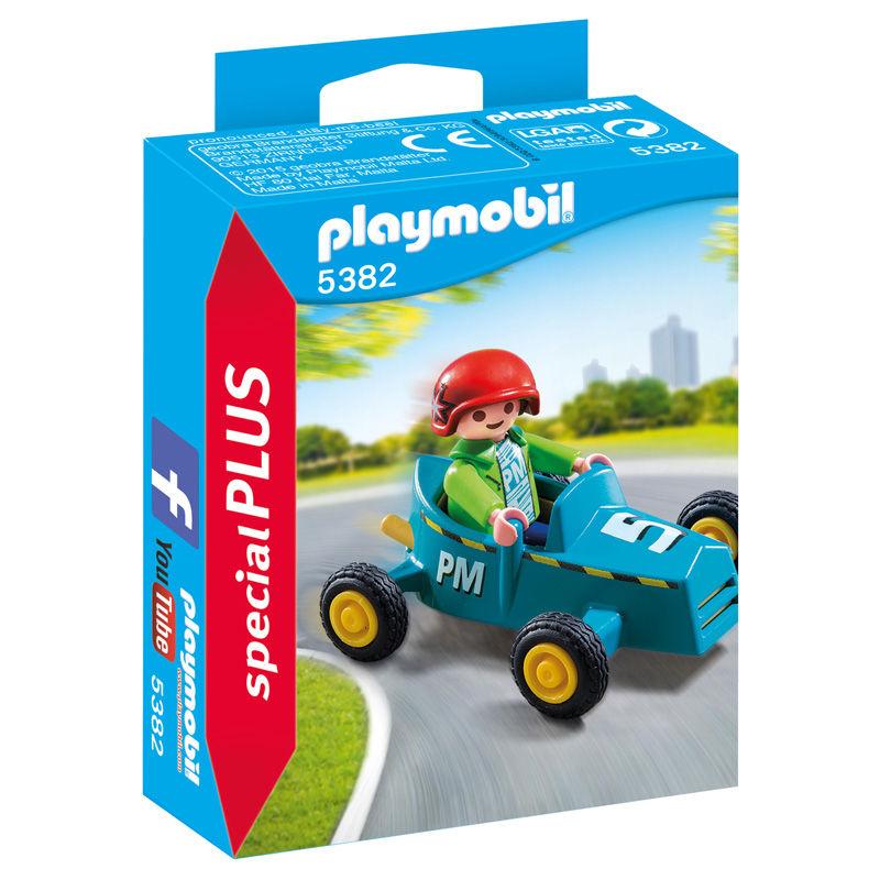 Niño con Kart Playmobil Special Plus
