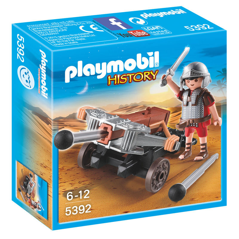 Playmobil History Legionary with crossbow - OcioStock - Marketplace B2B