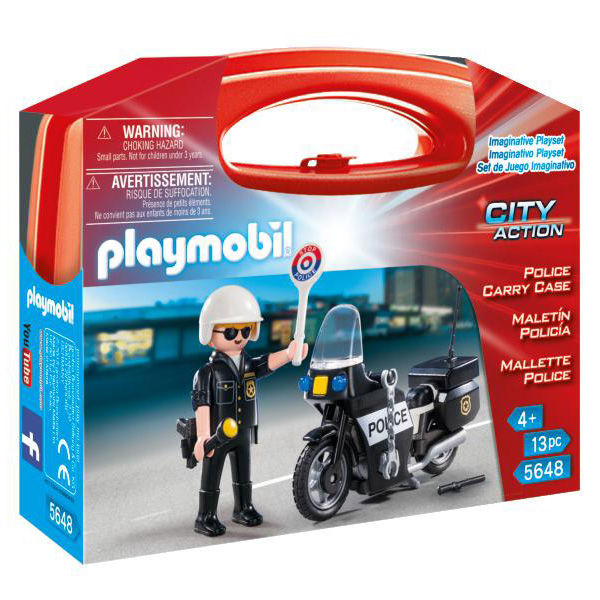 Maletin Policia Playmobil City Action