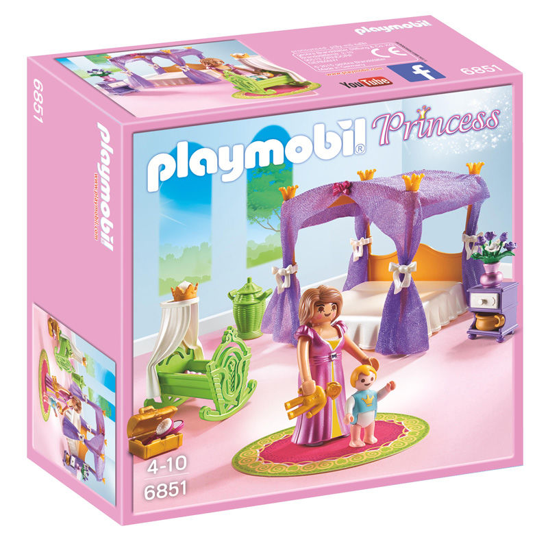 Dormitorio Princesas Con Cuna Playmobil Princess