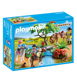 Playmobil Country Pony walk in the countryside